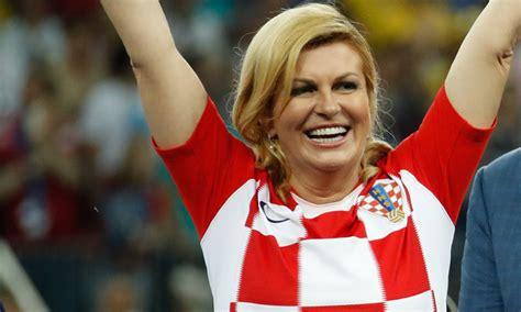La apasionada presidenta de Croacia se convierte en la ...