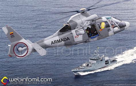 La Armada de Colombia adquirió dos helicópteros AS365 N3 ...