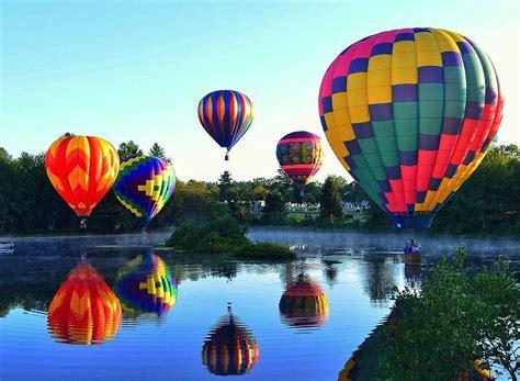 La belleza de los globos aerostáticos en increíbles fotos