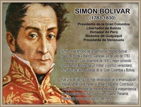 La Biografia De Simon Bolivar   SEONegativo.com