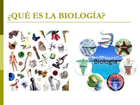 La Biología : Concepto de la Biología.