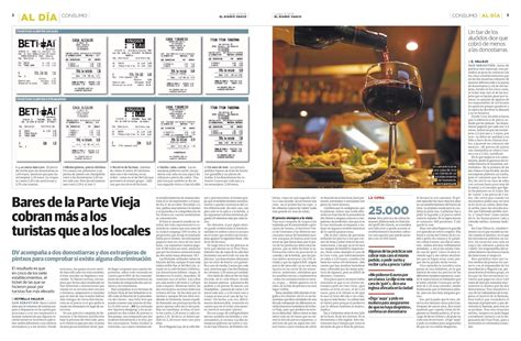 La buena prensa: Mejor pedir en euskera