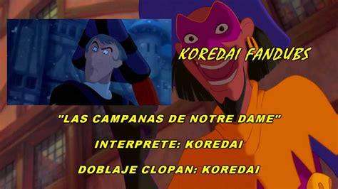La Canción de Notre Dame   ~ Fandub ~ MX Spanish Latino HD ...