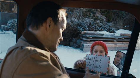La carta  es el anuncio de Navidad de Coca Cola