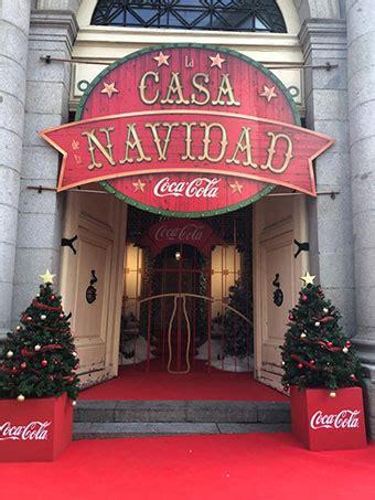 La Casa de la Navidad de Coca   Cola vuelve un año más