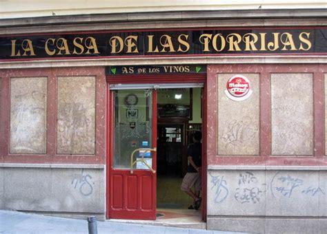LA CASA DE LAS TORRIJAS Madrid | TABERNAS CASTIZAS de ...