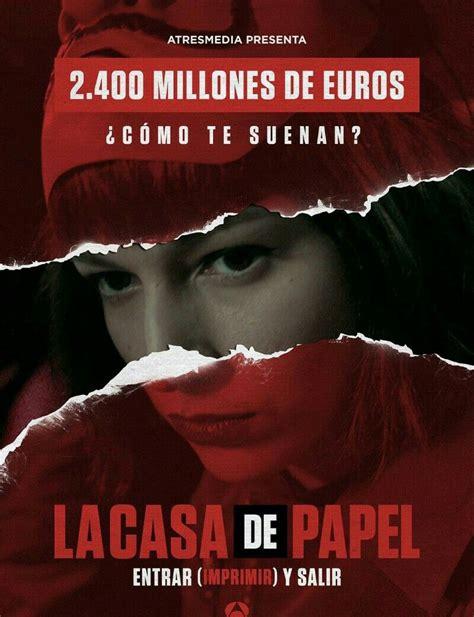 La casa de papel, serie de Antena3   Series TV del siglo ...