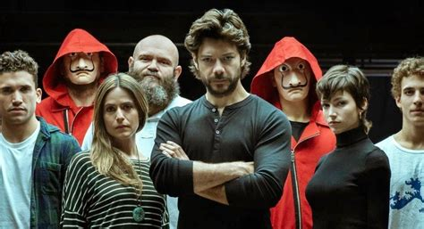 La casa de papel temporada 3   Netflix preestrena sus dos ...