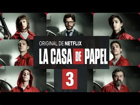 La casa de papel Temporada 3 Trailer   YouTube