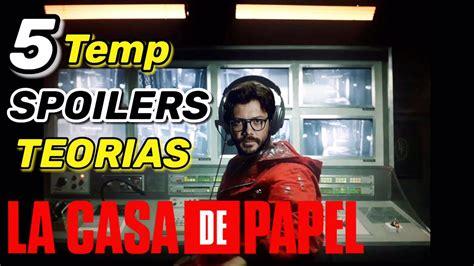 La Casa De Papel Temporada 5 Spoilers y Teorías   YouTube