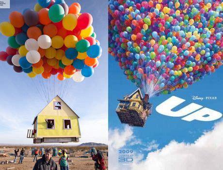 La casa de Up en el mundo real: National Geographic eleva ...