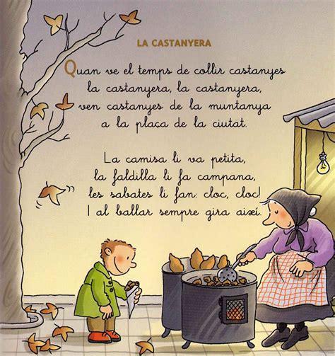 La castanyera, en catalán  lindo dibujo!!    Tardor, La ...