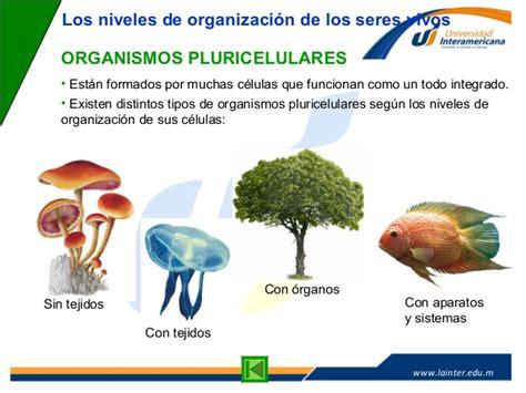La Célula: Organismos