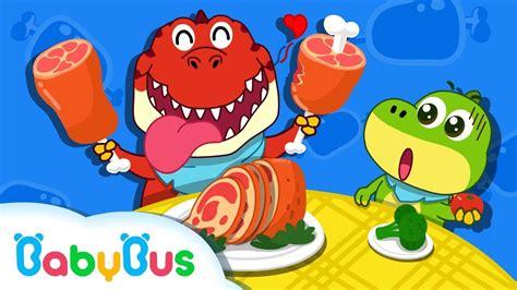 La Cena de Dinosaurio | Canciones Infantiles | Dinosaurios ...
