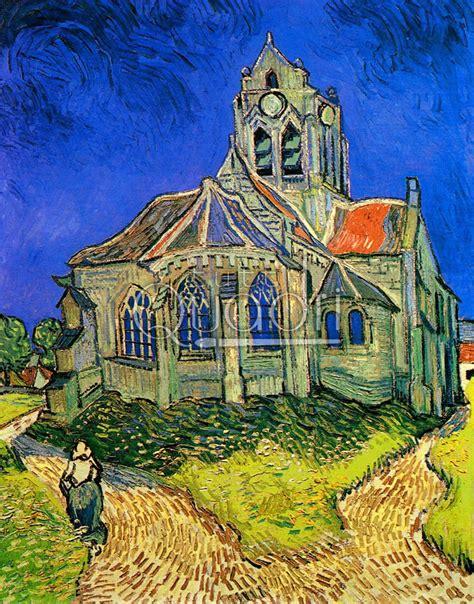 La Chiesa di Auvers  di Van Gogh. Quadro dell edificio ...