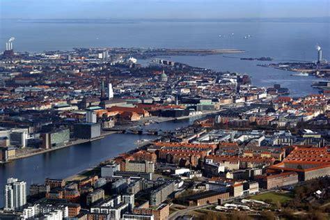 La ciudad de Copenhague, capital de Dinamarca
