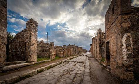La ciudad Pompeya atrapada en el tiempo