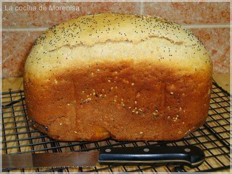 LA COCINA DE MORENISA: Pan con Harina Integral Espelta ...