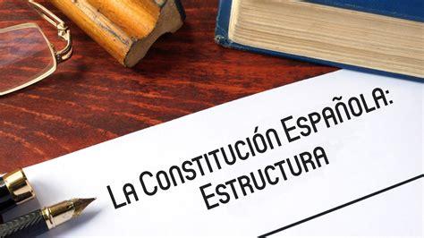 La Constitución Española  II : Estructura   YouTube