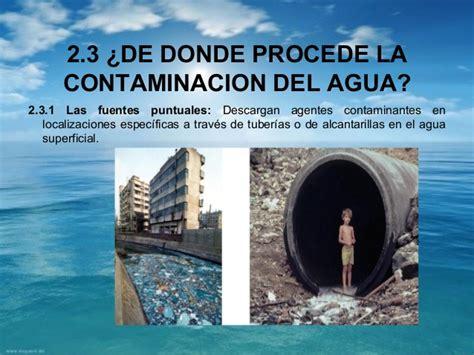La contaminacion del agua 2