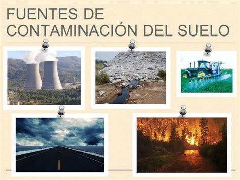 La Contaminación del Suelo – Información imágenes