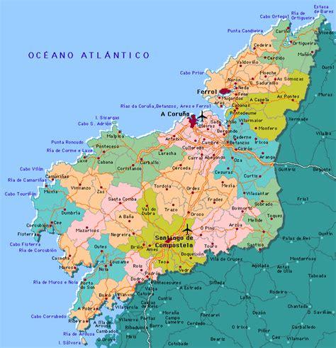 La Coruna Map and La Coruna Satellite Image