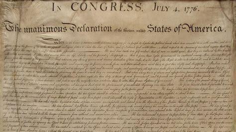 La Declaración de Independencia de Estados Unidos que ...