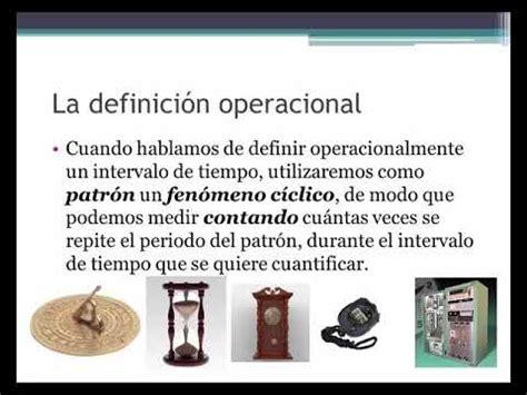 La definición operacional   YouTube