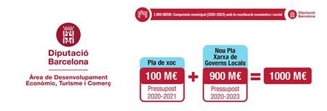 La Diputación de Barcelona moviliza 1.000 millones de ...