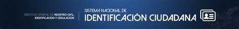 La Dirección General de Registro Civil, Identificación y ...