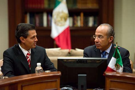 La economía que entrega Felipe Calderón Hinojosa a Enrique ...