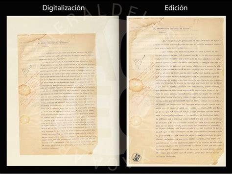 La edición en el documento histórico – Archivo General del ...
