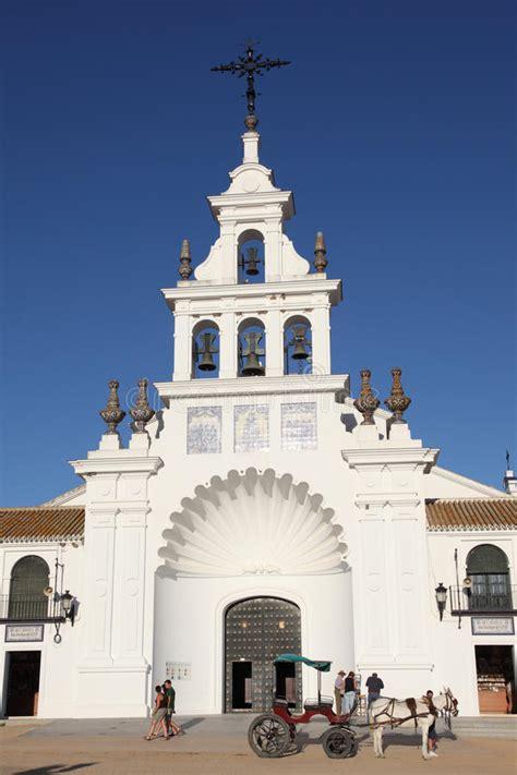 La Ermita Del EL Rocio, España Foto editorial   Imagen de ...