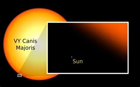 La estrella mas grande del universo conocida en la ...