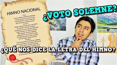 La ESTROFA APÓCRIFA del HIMNO NACIONAL DEL PERÚ y su ...