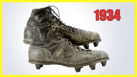 La Evolución de las botas de fútbol desde 1526 hasta 2017 ...