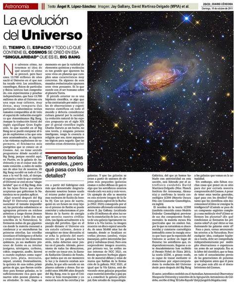 La Evolución del Universo   Paperblog