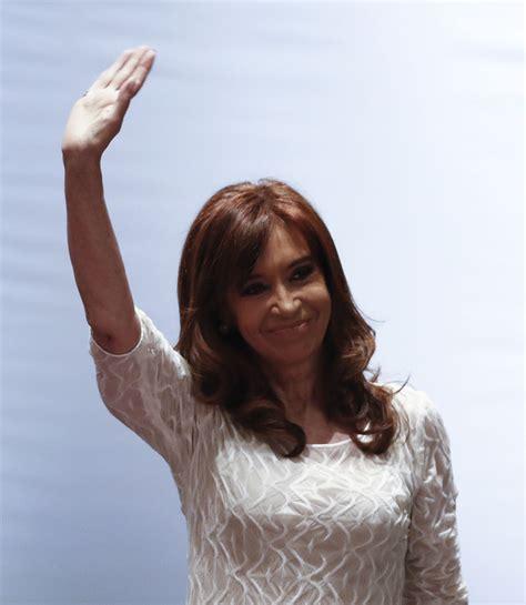 La ex presidenta Cristina Kirchner, a juicio por primera ...