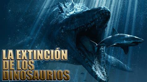 La Extinción de los Dinosaurios    Documental    YouTube