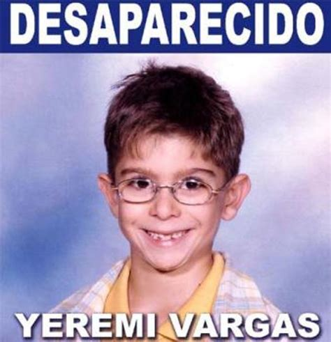 """La familia de Yéremi Vargas pide un careo entre """"El Rubio ..."""