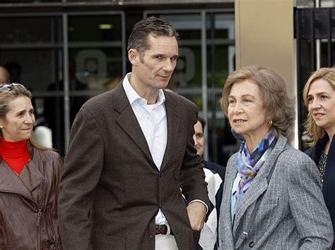La Familia Real al completo, incluido Iñaki Urdangarin ...
