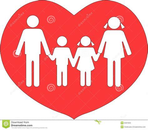 La Familia Unió En Amor Foto de archivo   Imagen: 8401840