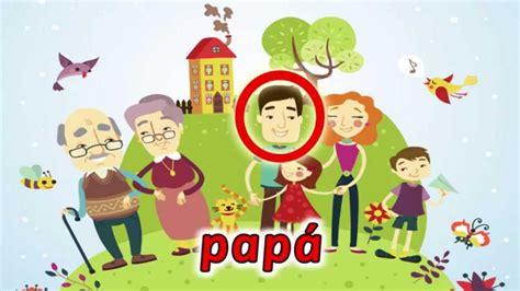 La Familia   video educativo para niños   YouTube