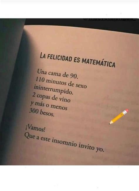 La felicidad es matemática   Frases inspiradoras, Frases ...