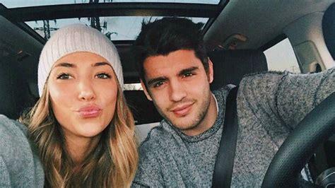La felicitación de Morata a su novia por su cumpleaños ...