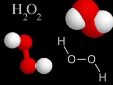 La formula para el agua oxigenada.   YouTube