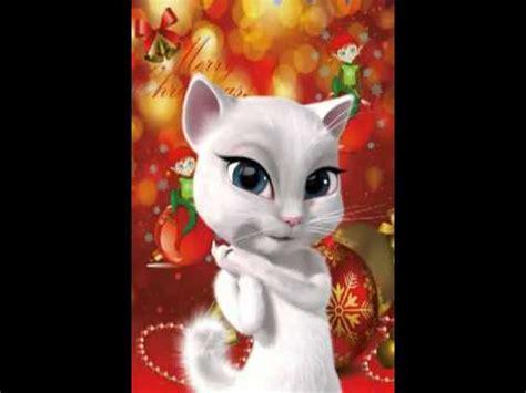La gatita te desea Feliz Navidad   YouTube