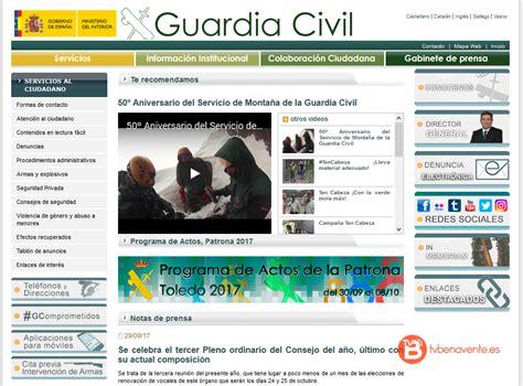 La Guardia Civil crea el sistema de citas previas en ...