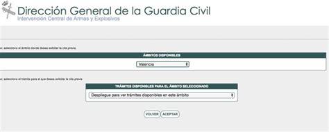 La Guardia Civil habilita la cita previa en Intervenciones ...