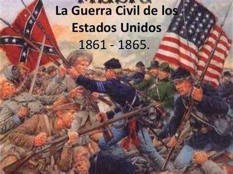 La guerra civil, Estados Unidos